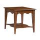 Kincaid Treasures Solid Wood Bailey Rectangular End Table in Natural Cherry 2893-30