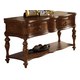 Somerton Melbourne Sofa Table in Medium Brown 145B05