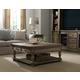 Hooker Furniture Sorella Living Room Rectangular Cocktail Table Set