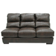 Jackson Lawson Armless Sofa in Godiva