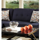 Coaster Keaton Armless Chair in Midnight Blue 503451