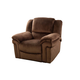 New Classic Jared Non Power Glider Recliner in Chocolate 20-822-13-PCH