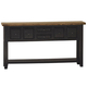 Hillsdale Tuscan Retreat™ Six Drawer Hall Table in Black 5267-888W