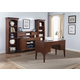 Liberty Keystone Jr Executive Home Office Set in Ginger Glaze