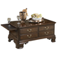Fine Furniture American Cherry Stafford Storage Cocktail Table in Potomac Cherry 1020-910