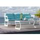 Skyline Design Lyon Sofa in White Matte 22903