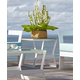 Skyline Design Lyon Side Table in White Matte 22905