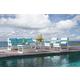 Skyline Design Lyon 4 Piece Outdoor Seating Set in White Matte
