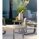 Skyline Design Oregon Side Table in Silver Walnut 22965