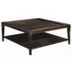 Bernhardt Vintage Patina Square Cocktail Table in Molasses 322-011B