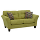 Jackson Halle Loveseat in Basil/Gemstone 4381-02 CODE:UNIV20 for 20% Off