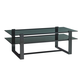 Lexington Furniture Carrera Metal and Glass Cocktail Table in Carbon Gray 911-945C