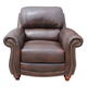 Leather Italia USA Presidential James Chair S9922 in Tobacco 1831-S9922-012952
