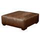Jackson Lawson Cocktail Ottoman 4243-28 in Chestnut CODE:UNIV20 for 20% Off