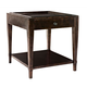 Bernhardt Vintage Patina Square End Table in Molasses 322-112B
