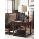 Lexington Coventry Hills Fairfield Lamp Table in Autumn Brown 945-955 CLOSEOUT