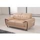 ESF Furniture 669 Loveseat in Cream