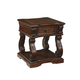 Alymere Square End Table in Rustic Brown T869-2