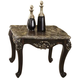 Meridian Barcelona End Table in Chocolate 275-E