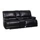 Global Furniture U2175 Console Loveseat in Kelton Black