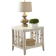 Liberty Furniture Dockside II End Table in White 469-OT1020