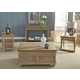Liberty Furniture Harbor View 4-Piece Occasional Table Set in Sand