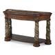AICO Villa Valencia Sofa Table in Classic Chestnut 72203-55