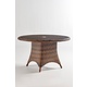 South Sea Outdoor Barrington Chat Table in Chestnut 77717