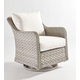South Sea Rattan Mayfair Outdoor Swivel Glider in Pebble 77805