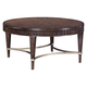 Broyhill Furniture Cashmera Round Cocktail Table in Truffle 4860-003
