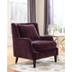 Coaster Donny Osmond Home Accents Chair in Eggplant 902896