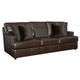 Bernhardt Upholstery Winslow Sofa in Leather 3416L