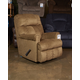 Craggly Rocker Recliner in Straw