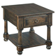 Kincaid Wildfire End Table in Ember 86-022