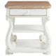 Stanley Furniture Juniper Dell End Table in White 615-25-09