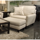 Jackson Furniture Ackland Chair and Half in Linen 3156-01 CODE:UNIV20 for 20% Off