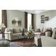 Calicho 3-Piece Living Room Set in Ecru