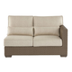 A.R.T Arch Salvage Outdoor Florence Wicker Right Arm Facing Loveseat in Tobacco 933510-4124 CLOSEOUT