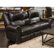 Catnapper Messina Power Headrest w/Lumbar Reclining Console Loveseat in Chocolate 764229 CODE:UNIV20 for 20% Off