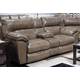 Catnapper Milan Power Lay Flat Reclining Console Loveseat in Smoke 64349 CODE:UNIV20 for 20% Off