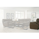 Catnapper Milan Power Lay Flat Recliner in Smoke 64340-7 CODE:UNIV20 for 20% Off