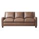 Leather Italia USA Georgetowne - Napa Sofa in Peanut Brown 1669-6384-03177136