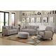 Emerald Home Speakeasy Sofa Living Room Set in Brown