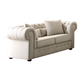 Homelegance Furniture Savonburg Loveseat in Beige 8427-2