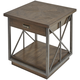 A.R.T. Furniture Vintage Salvage Burton End Table in Walnut