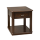 Liberty Wallace End Table in Dark Toffee 424-OT1020