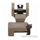 Troy Folding Rear Di-Optic Sight FDE