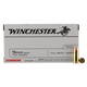 Winchester Ammunition FMJ 124 Grain Brass 9mm 50Rds