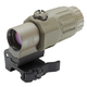 EOTech G33 STS 3X Magnifier with Switch-to-Side Mount Tan