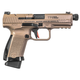 Canik TP9SF Elite Combat Flat Dark Earth 9mm 4.78-inch One 17Rd and One 15Rd Magazine
